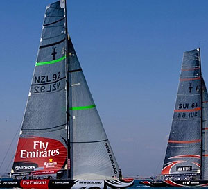 Commonwealth Games one day, America's Cup the next?