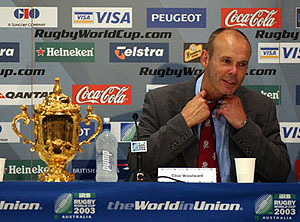 Clive Woodward - Image by MICK TSIKAS - AAPIMAGE