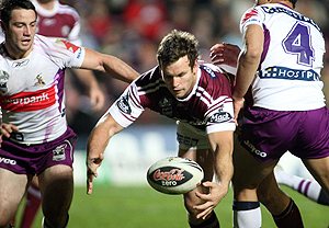 Josh Perry in action during the NRL Round 22, Manly-Warringah Sea Eagles v Melbourne Storm at Brookvale Oval, Sydney, Friday Aug. 8, 2008. Storm won 16-10. AAP Image/Action Photographics, Grant Trouville