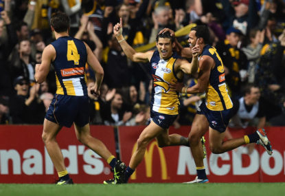 Are the West Coast Eagles front-runners?
