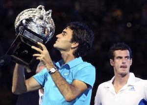 Roger Federer wins Australian Open Tennis
