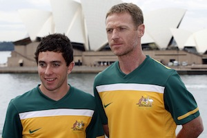 Socceroos World Cup strip