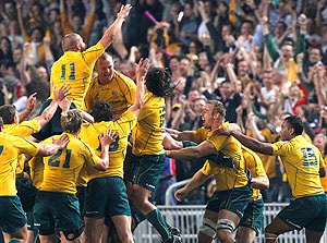 The Wallabies World Cup Mantra One Team 2011