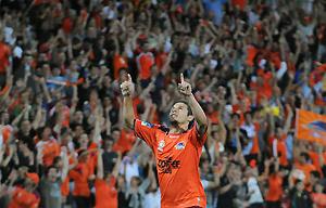 Brisbane player Kosta Barbarouses