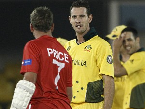 Tait Ray Price Cricket World Cup 2011