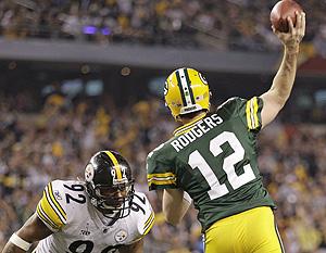 Super Bowl 45 - MVP Aaron Rodgers