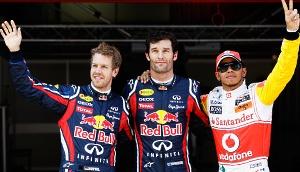 Mark Webber on pole for Spanish F1 qualifying