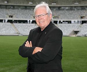 SBS veteran Australian football broadcaster Les Murray. AP Photo/SBS Television