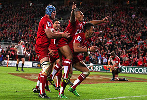 Reds win Super Rugby final