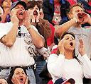 Fans boo