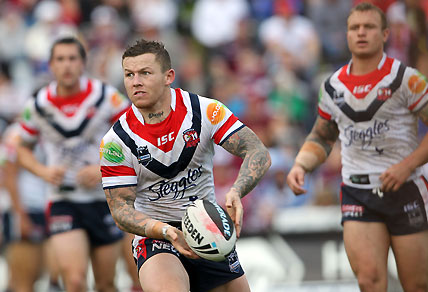 Todd Carney in his Sydney Roosters Days