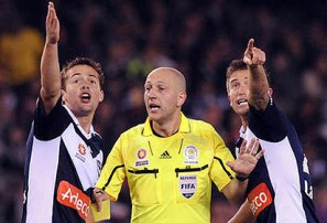 Refereeing is not just in the moment