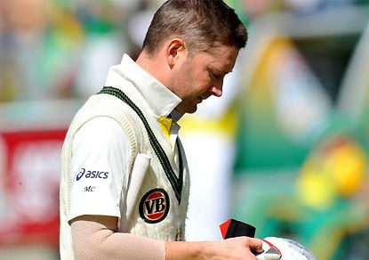 Michael Clarke, and a leadership lower than Kim Hughes