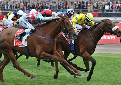 Five of the most exciting Melbourne Cup finishes
