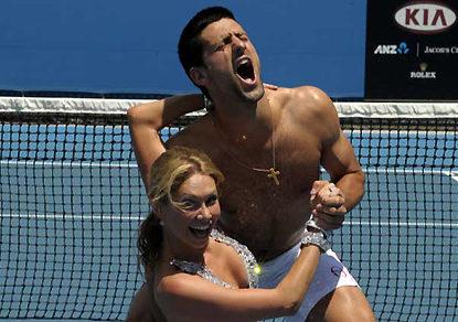 Tennis officials need to lighten up
