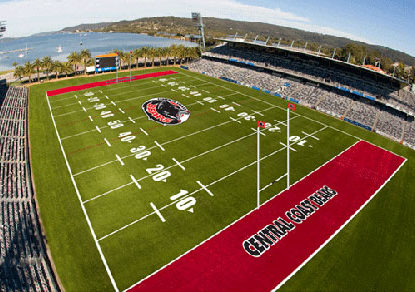 Forget a club, the NRL won't even give the Central Coast a game