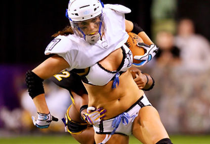 Legends Football League from the perspective of a 22-year-old male