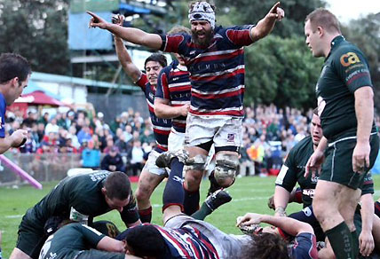 Easts vs Randwick. Photo via http://www.eastsrugby.com.au/