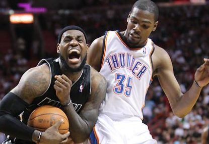 Miami Heat vs Oklahoma City Thunder: NBA Finals Game 1 live scores, blog