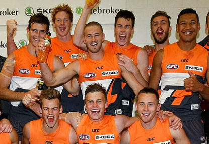 GWS are ready to make their mark