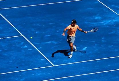Nadal denies Aussie Open curse