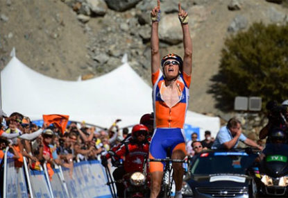 Gesink wins in California, emerges as Tour dark horse