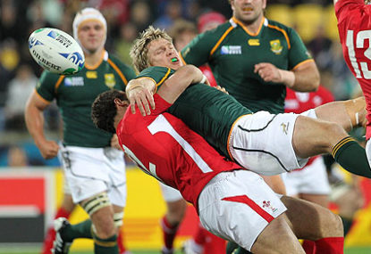 Jean De Villiers' injury caused by dangerous and illegal play
