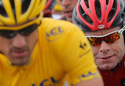 Cadel well positioned after week one of the Tour