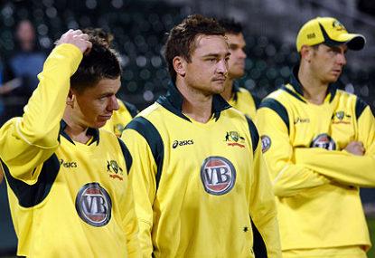 Picking the Australian XI for Sri Lanka 2012