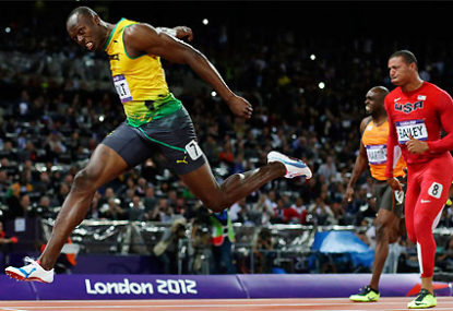 London 2012: Athletics - Men's 200m Final, Usain Bolt vs ...
