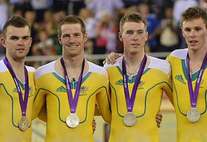 By population, Australia is on top of the medal tally