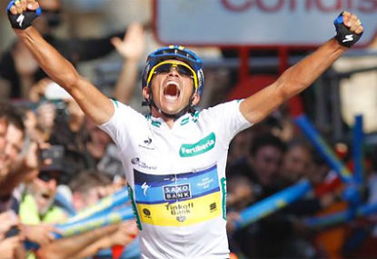 Is Contador really taking it easy at the Vuelta?