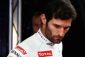 Mark Webber nearing the end in F1