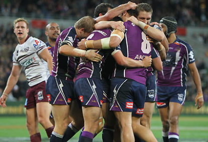 How should Melbourne Storm's record be read?