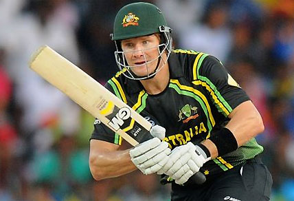 Shane Watson is carrying Australia's hopes in the Twenty20 World Cup