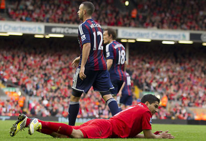 Suarez bites, Robben dives, FIFA shrugs
