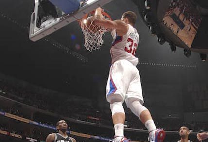 Blake Griffin for the Los Angeles Clippers