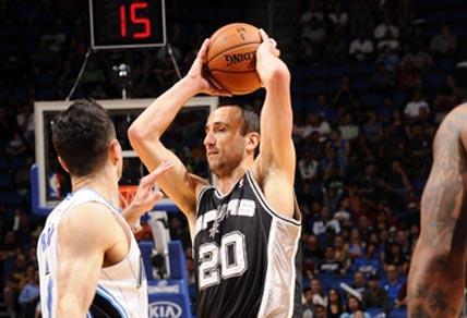 Manu Ginobili basketball San Antonio Spurs