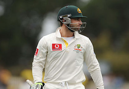 Phillip Hughes: The man who just can't catch a break