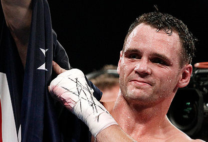 Aussie boxing on the ropes