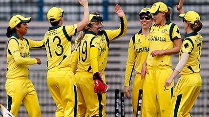 Australian Women S Cricket Team Celebrate