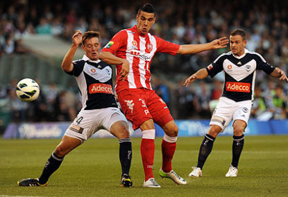 Melbourne Heart, Manchester City and