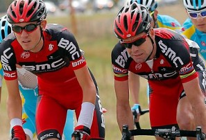A good couple of days for Cadel at the 2013 Giro