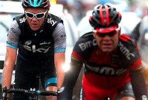 Froome's rivals falling apart