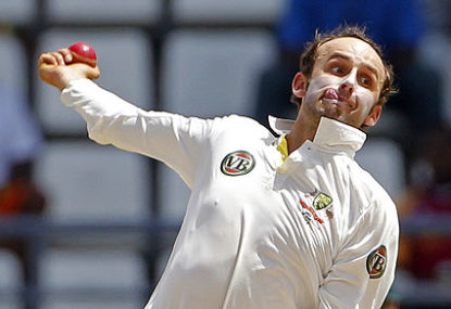 Australia's spinner Nathan Lyon. AP Photo/Andres Leighton