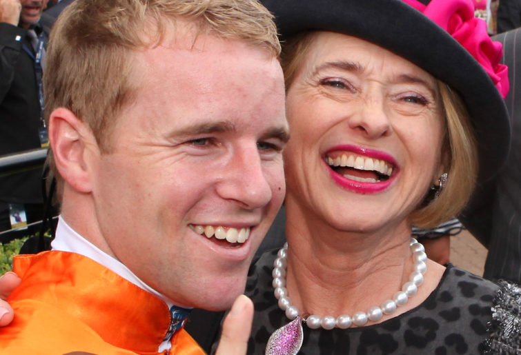 Gai Waterhouse had a hand in everything on Golden Slipper Day 2013