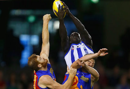 JOHNNO: Majak's debut makes a buzz, but wait for a full game first