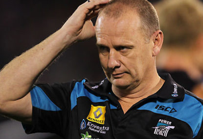 Seven untold stories from Port Adelaide in 2015