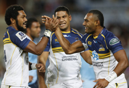 The 'Australian Rugby Championship': the final standings