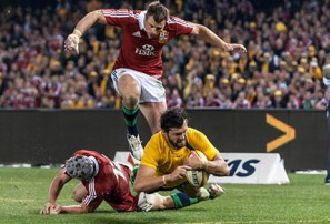 Wallabies on the verge of a memorable victory